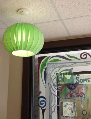 Green Lamp Bonnet