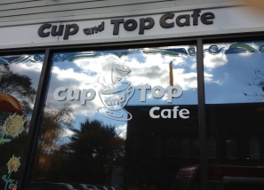 At the Cup and Top Café