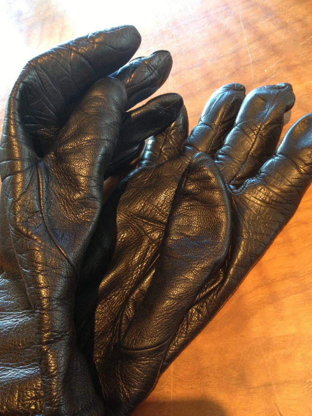 Worn Gloves